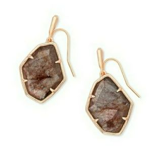 Kendra Scott Dax Earrings in Sable Mica